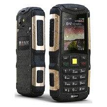 New Original Phone MANN ZUG S Dustproof Shockproof Waterproof Dual SIm GSM GPRS 2.0 inch Senior Russion keyboard Mobile Phone