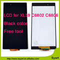 High quality For Sony Xperia Z Ultra XL39h XL39 C6802 C6833 C6843 LCD Replacement Display with Touch Screen Digitizer Fre Tools
