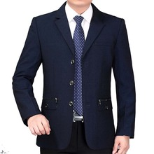 Здесь можно купить  2017 new arrive  autumn mature men office professional suit formal businese slim male designer casual suit