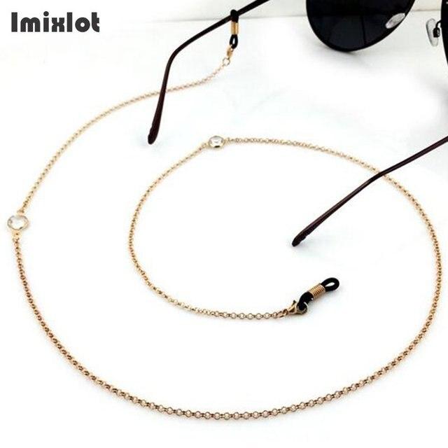 a8050551a Imixlot محل الرقبة الحبل حزام حبل الأزياء الذهب النظارات حزام 70 cm نظارات  للقراءة سلسلة نظارات
