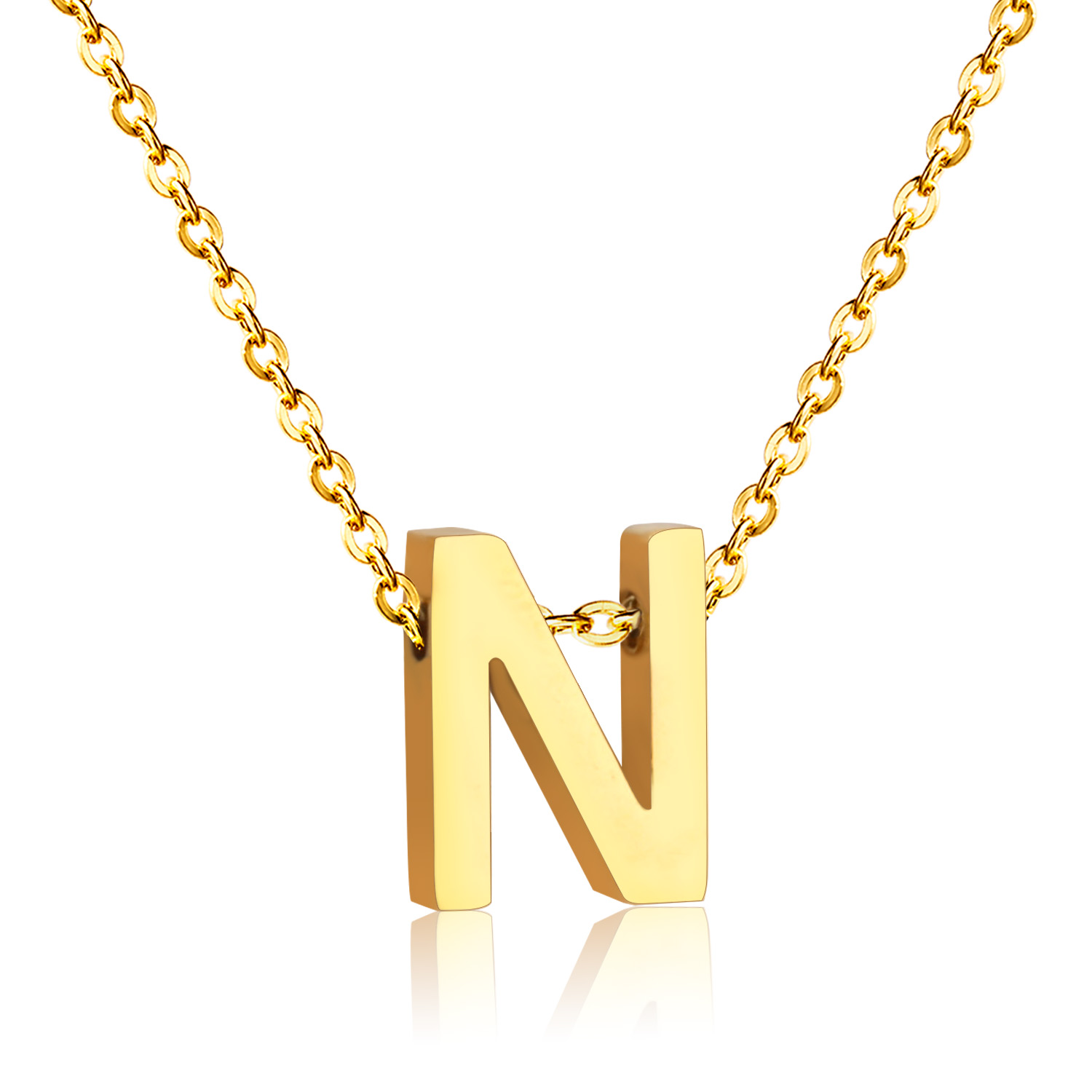 New Letter N Pendant Neclace(China)