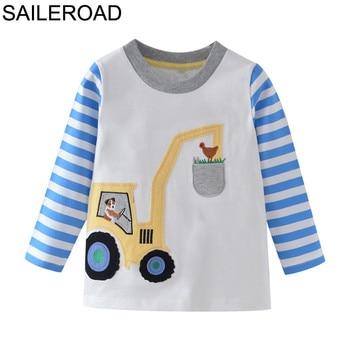 SAILEROAD Cotton dzieci dzieci chłopcy dziewczęta koszule  lFWu6