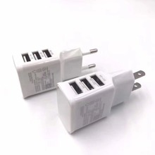 European and American 5V 1A 2A 3A mobile phone adapter For i