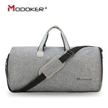 Modoker Пакет дорожная сумка для одежды с плечевым ремнем, спортивная сумка, сумка для переноски, подвесной чемодан, одежда, деловые сумки с нес...