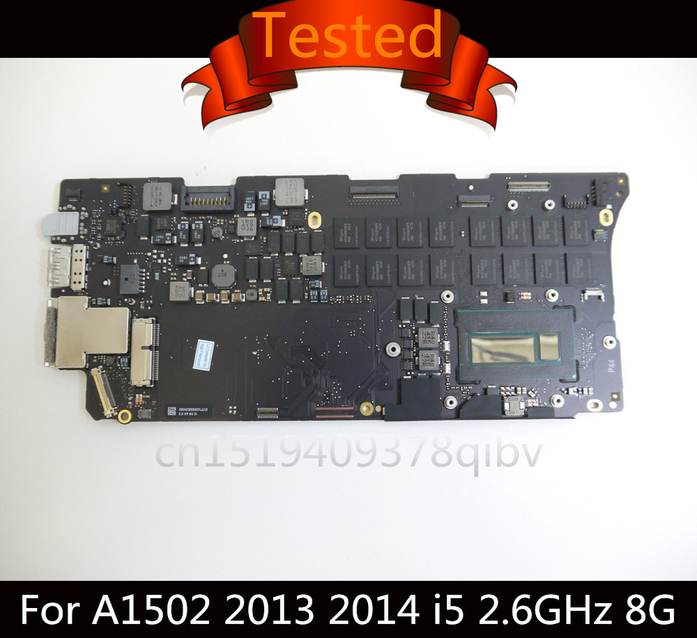 Tested Orignal 2.6GHz i5-4288 8GB Logic Board for MacBook Pro Retina 13 A1502 Motherboard 661-8146 820-3476-A 2013 2014 100% tested for washing machines board xqsb50 0528 xqsb52 528 xqsb55 0528 0034000808d motherboard on sale