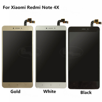 For Xiaomi Redmi Note 4X Lcd Display+Touch Screen 5.5 LCD capacitive touchscreen For Redmi NOTE 4X Top Quality 100% Test+Tools