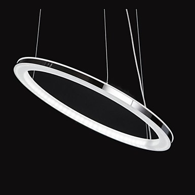 Luminaire LED Arylic Lights Modern Pendant Lighting Lamp,1 light, Modern Chic Stainless Steel Plating Free Shipping