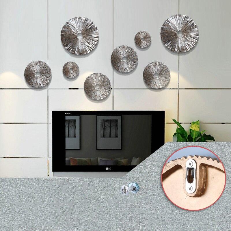اكسسوار الجدار الدائري المعلق اكسسوارات جدارية