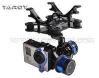 Tarocchi T-2D 2-asse Brushless Giunto Cardanico Della Macchina Fotografica PTZ Montaggio FPV Cremagliera TL68A08 per GoPro Hero3 FAI DA TE FPV RC Multicopter drone