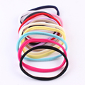10pcs/Pack Newest Baby Infant Soft Cotton Headband Stretchable Solid Color Head Wear Hair Bands Color Randomly Send