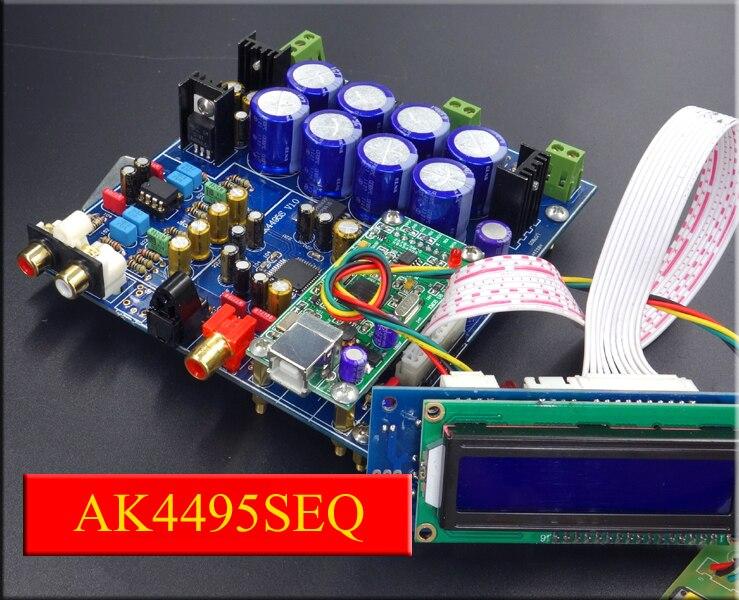 ФОТО The new flagship AK4495SEQ + AK4118 decoder board