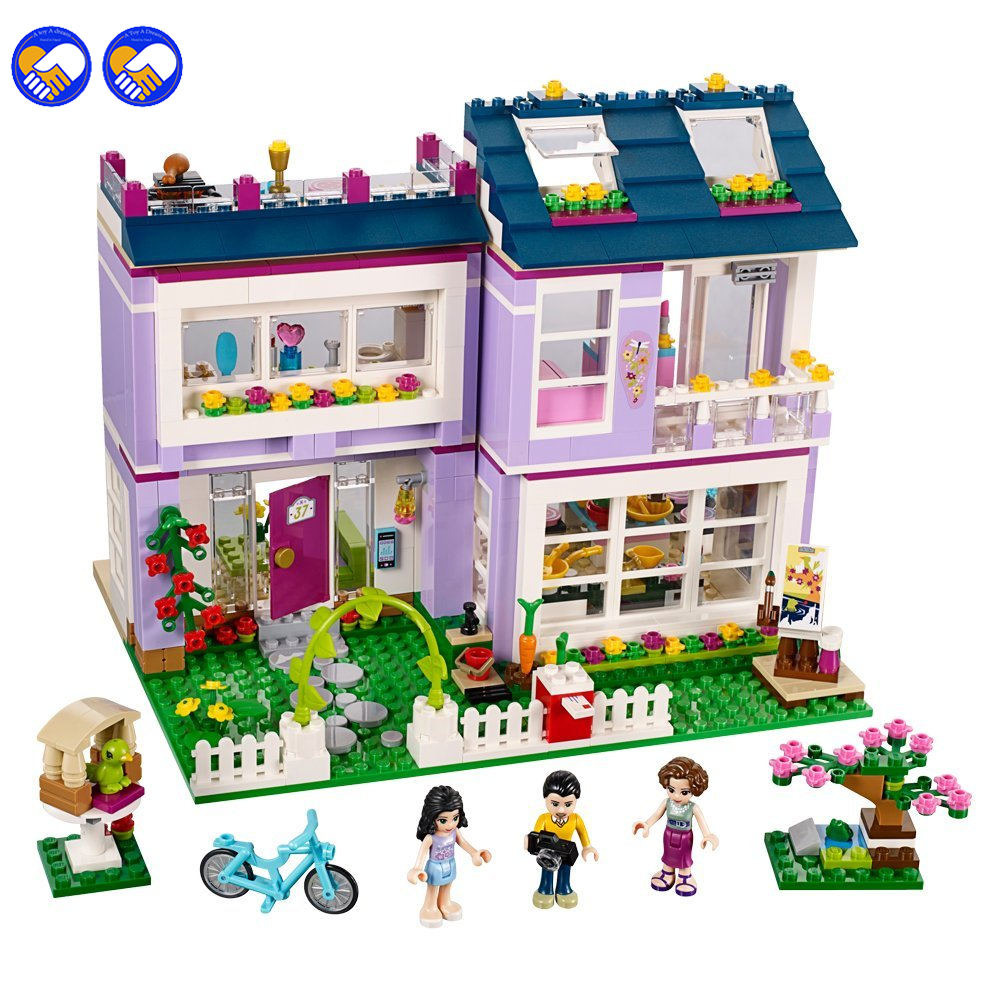 A toy A dream 2016 NEW Bela 41095 Models & Building Toys Girl Friends Classic Toy city house Christmas blocks toy 10541A toy A dream 2016 NEW Bela 41095 Models & Building Toys Girl Friends Classic Toy city house Christmas blocks toy 10541