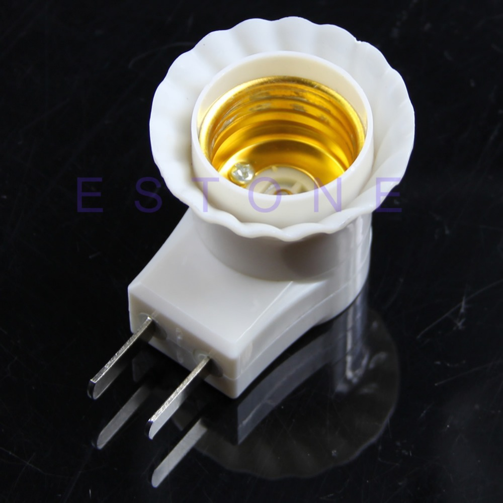 Lamp Bases E27 Female Socket To Us/au/eu Plug Adapter With Power On-off Control Switch New By Scientific Process
