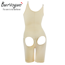 Burvogue Women Black Full Body Shaper