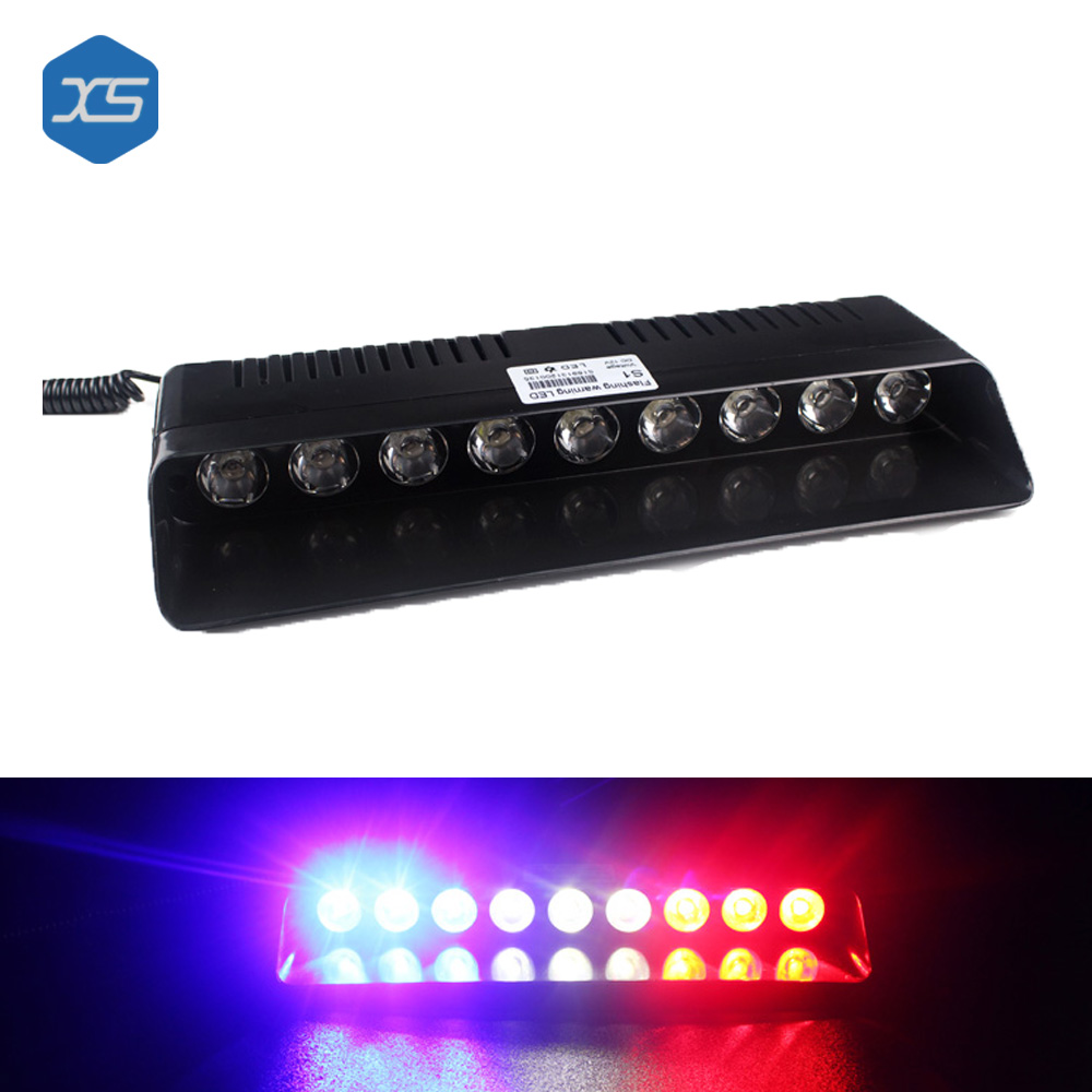 DC 12V Strobe L& 9W 9 LEDs Car Truck Sucker Warning Light Flash Beacon Strobe Emergency  sc 1 st  AliExpress.com & Online Get Cheap Ford Car Club -Aliexpress.com | Alibaba Group markmcfarlin.com