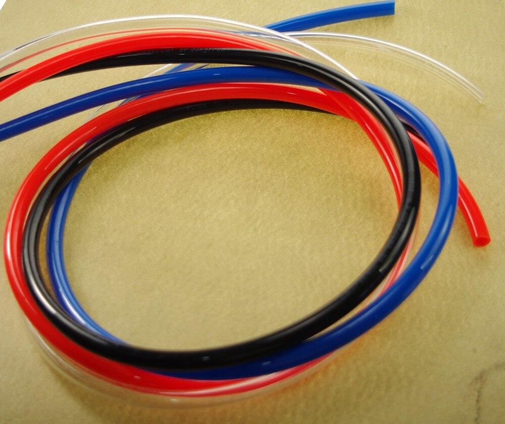 Mm od id pu air tubing pipe hose pneumatic color