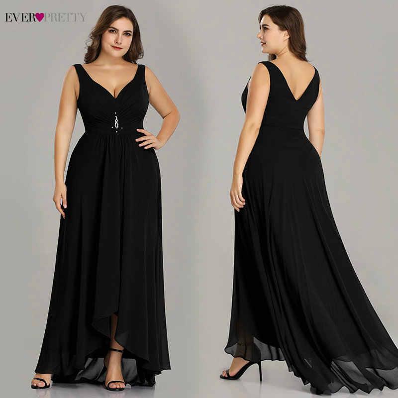 Plus Size Vestidos de Noite Longo 2019 Elegante Borgonha A-line Mangas de Cristal Alta Baixa Sempre Bonitas Vestidos Especiais Da Ocasião