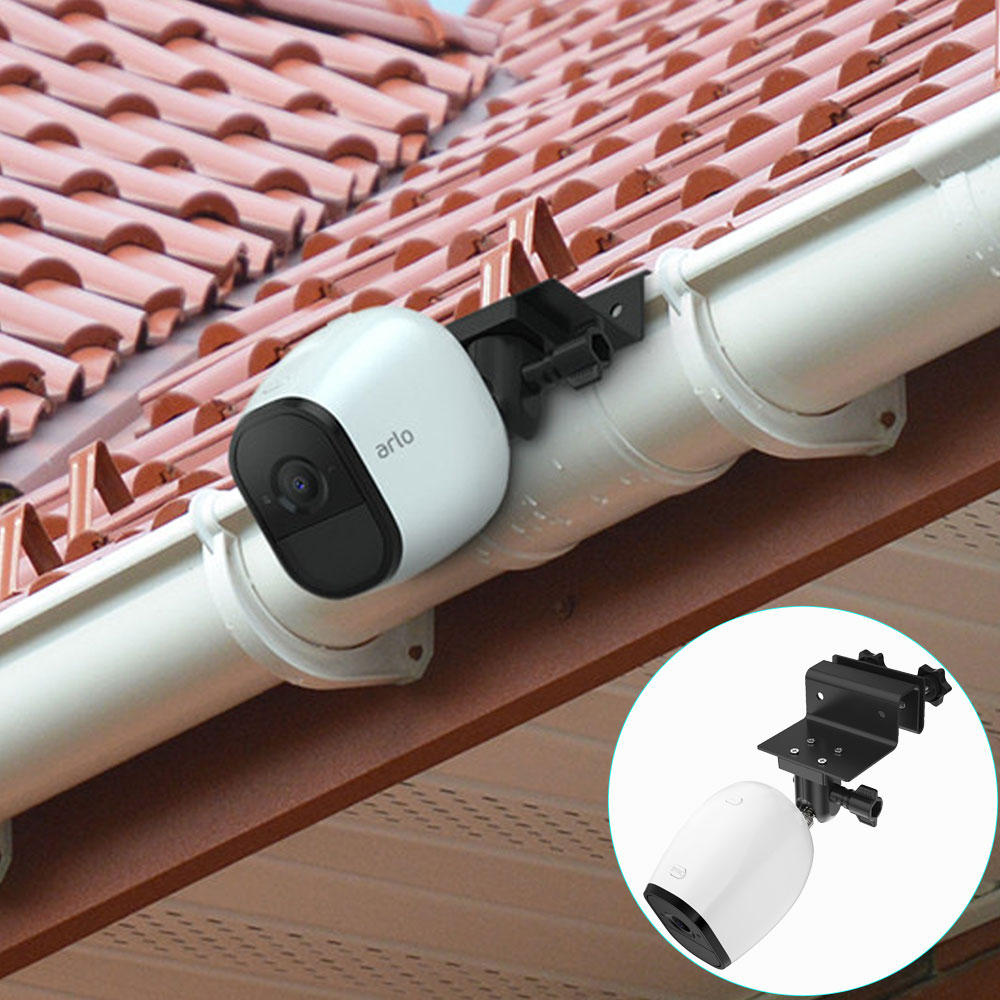 Arlo Camera Outdoor Gutter Mount For Arlo Pro 2 Ultra Hd