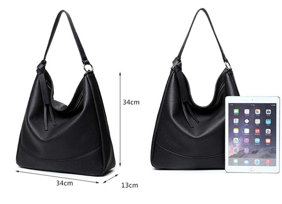 d9edef2382 Teridiva Wholesale Large Women Hobo Bags Soft Pu Leather Tassel ...