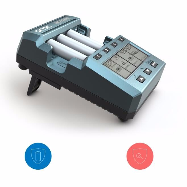 Original SKYRC NC2600 Bluetooth Smart 4 Slots Battery Charger Fast Charging On The 5th On The 7th Universal Upgrade Kit