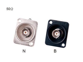 High quality 100pcs/lot D type 50 ohm BNC Socket BNC Receptacle