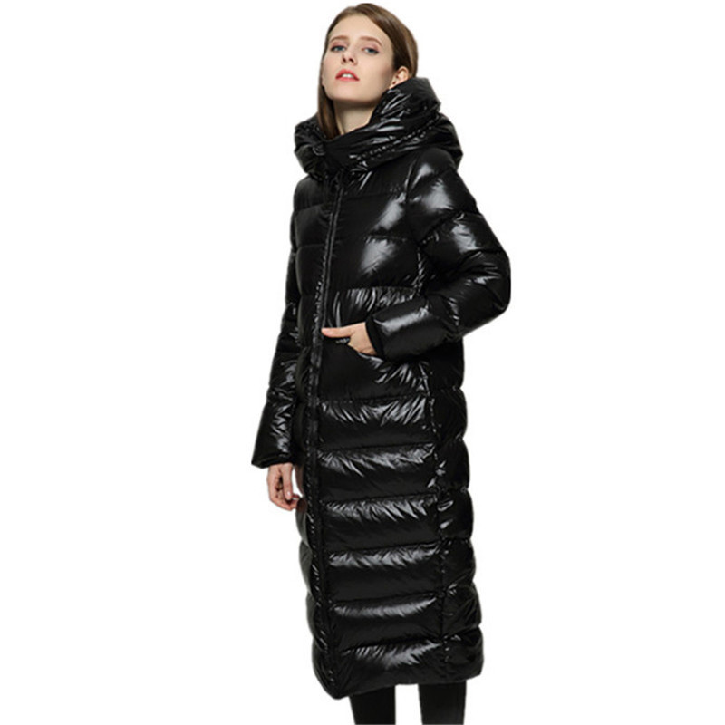 2018 Winter Women's Down Coats 90% White duck down Jackets Women Female Outerwear Warm Thick Down Puffer Jacket Parka YP2064