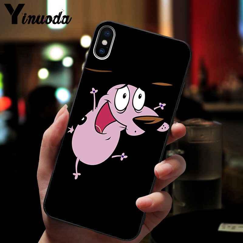 Funda de teléfono de alta calidad Yinuoda valor el perro gallina para iPhone 8 7 6 6S Plus X XS MAX 5 5S SE XR