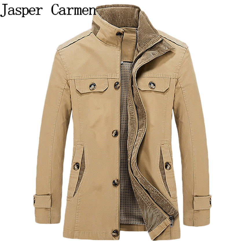 Trench Coat Men Autumn Thin Men's Windbreaker Casual Jacket Mens Long Trench Coat Brand Clothing Size M-5XL 98hfx