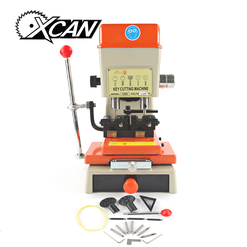 XCAN DEFU 339C Key Duplicating Machine key cutting machine locksmith tools for Car Key Used lock picks t handle vending machine pop up tubular cylinder lock w 3 keys vendo vending machine lock serving coffee drink and so on