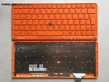 GR Germany Keyboard For SONY VPC P11 Series P119 P119JC P118 P115 Orange With Frame Laptop Keyboard GR Layout new laptop keyboard for sony vaio vpc y vpcy series sp layout