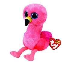 "Ty Beanie Boos Stuffed & Plush Animals Flamingo Doll Toys With Tag 6"" 15cm(China)"