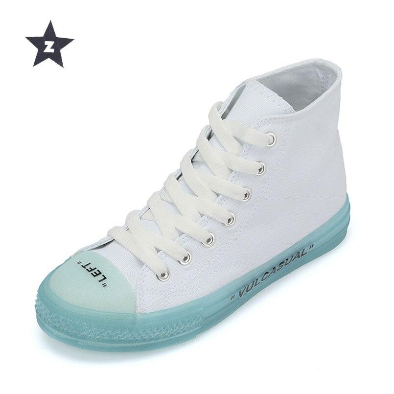 Z women sport shoes sneakers transparent crystal vu