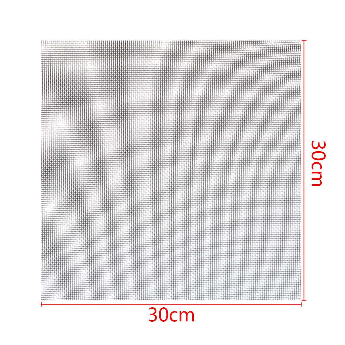 New 60 Mesh Woven Wire Cloth Screen Filtration Stainless Steel with High Temperature Resistance 30x30cm
