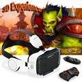 Venda quente! original bobovr z4 z4 bobo óculos de realidade virtual vr com fone de ouvido para smartphone 4.0-6.0 ''+ bluetooth gamepad