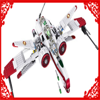 420Pcs Building Block Compatible Legoe Toys Star Wars Figures ARC 170 Starfighter Model LELE 35004 Brinquedos
