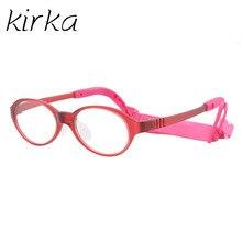 Kirka kids spectacle frames small child fashion optical eyeglasses for children glasses