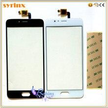 3m bande 5.2 pouces écran tactile pour Meizu M5S écran tactile panneau numériseur capteur avant verre lentille pièces de rechange TouchPad