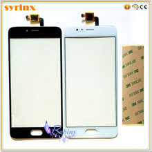 3m tape 5.2 inch Touchscreen For Meizu M5S Touch Screen Panel Digitizer Sensor Front Glass Lens Replacement Parts TouchPad