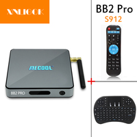 MECOOL BB2 Pro Smart TV Box Android 6 0 Amlogic S912 DDR3 Octa Core 3GB RAM