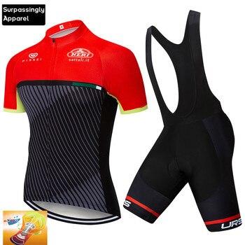 Camiseta de Ciclismo de secado rápido Tour de Italia 16D GEL Pad...