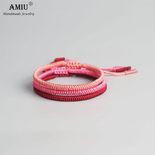 AMIU Multi Color Tibetan Buddhist Good Lucky Charm Tibetan Bracelets & Bangles 4