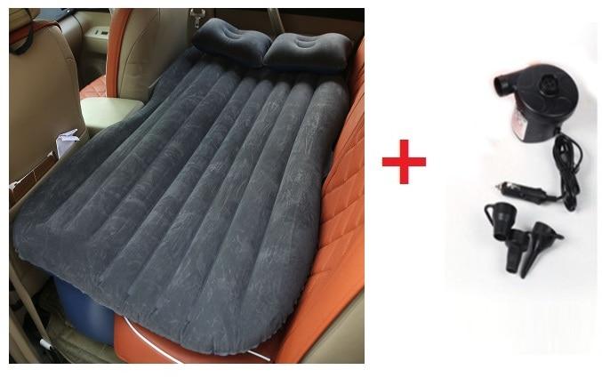 2015 nuevo colchón inflable cama de coche + bomba de aire coche cama - Accesorios de interior de coche - foto 2