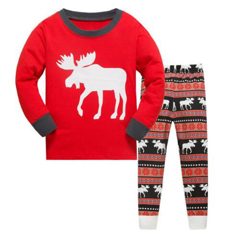 Detail Feedback Questions about Girls Boys Cartoon Kids Pajama Set Children  Sleepwear Boys Nightwear Girls Cotton Christmas Pajamas Toddler Pyjamas on  ... 91ada73c9