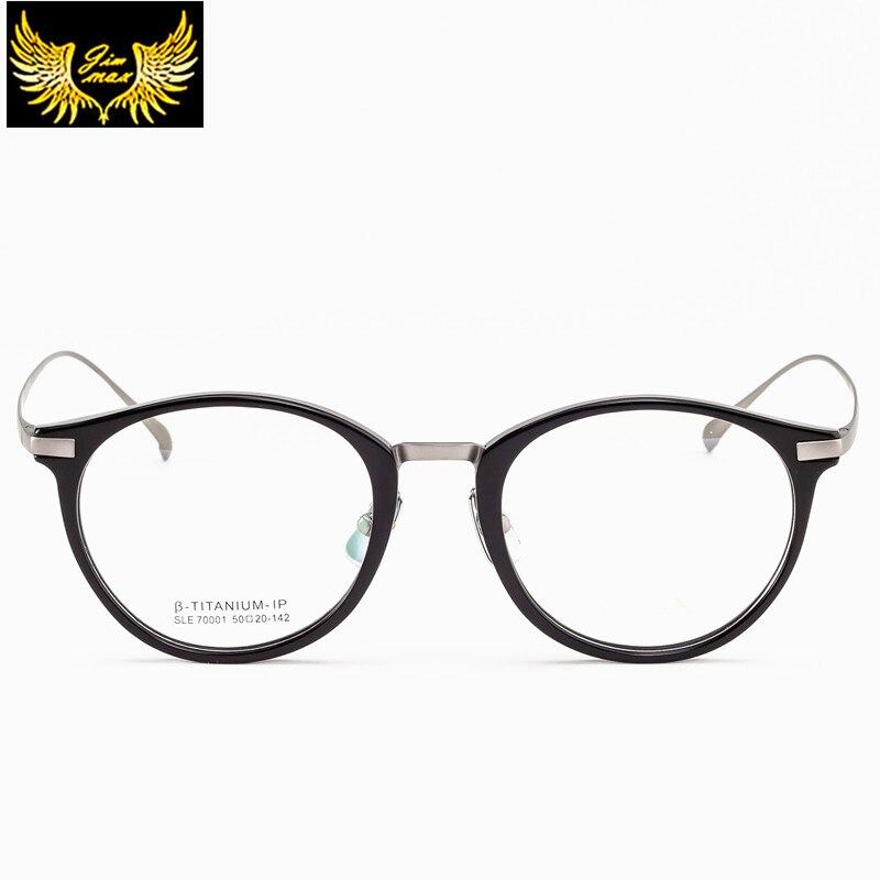 Silver Optischen Qualität Neue Mode Frauen Hohe 2017 Gold Rahmen c2 Brillen Titan Stil c3 Runde Reinem Für Colour Klassische Flower Black With C1 TWAPPqp