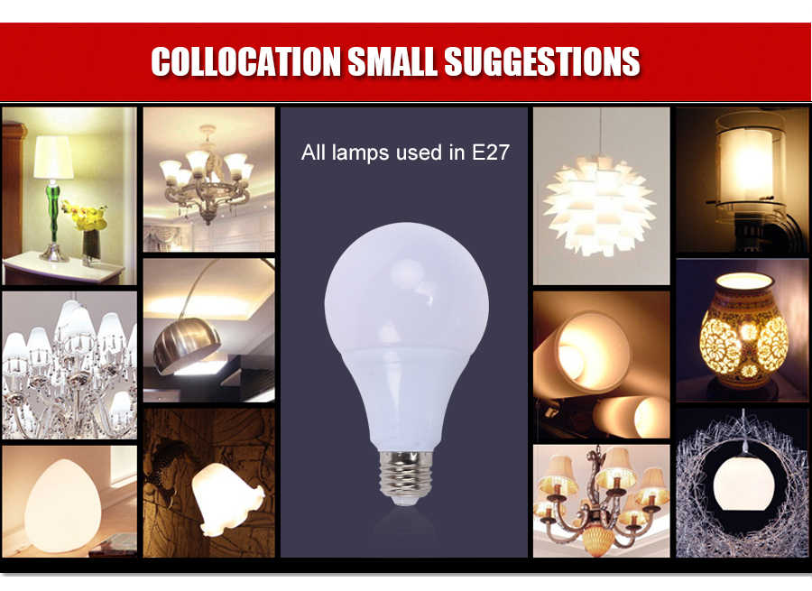 Lamparas led e27 220V 110V 3W 5W 7W 9W 12W 15W 18W B22 LED żarówka prawdziwa moc lampadine led zimny ciepły biały ledowy reflektor punktowy