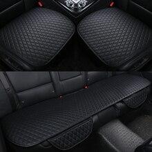 Almofadas de assento de carro frente para trás tampas de assento de carro caber todas as almofadas de carro tampas de assento de carro almofada quatro estações geral