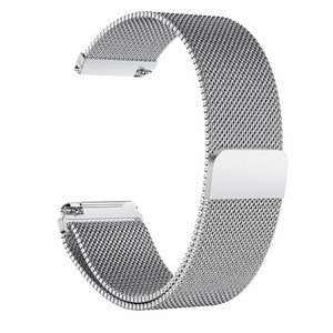 Image 4 - Milanese Magnetic Loop Stainless Steel Band For Fitbit Versa Gold Watch 5.5 6.7 inch Dropshipping Wristwatches Steel metal
