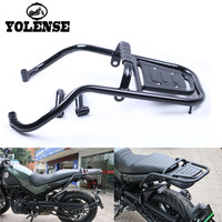 For Benelli BJ500 BJ 500 Motorcycle Accessories Leoncino Luggage Rack Bar Rear Tail Wing Shelves Armrest Holder Guard Motorbike