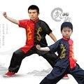 Conjunto desgaste desempenho roupas de dança traje collant shadowboxed YZL07 Criança camisa kung fu wushu uniforme 2016 china frete grátis