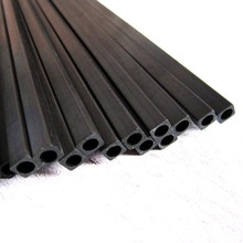 Free Shipping 10pcs/lot Carbon Square Tube Pipe for RC Plane DIY tool Quadcopter arm 3*3*2mm/ 5*5*3m
